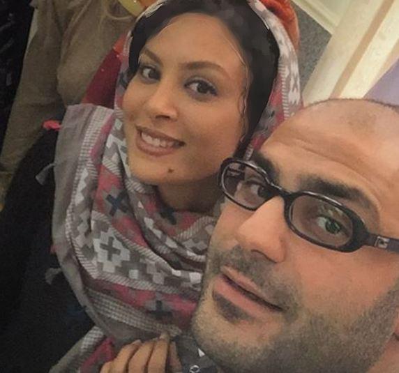 تازه ترین عکسهای حدیثه تهرانی و همسرش! تصاویر