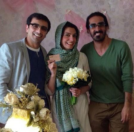 امین زندگانی و همسرش الیکا عبدالرزاقی بازیگران کشورمان تصاویر