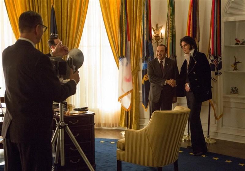 ملاقات الویس پریسلی با رئیس جمهور آمریکا تصاویر