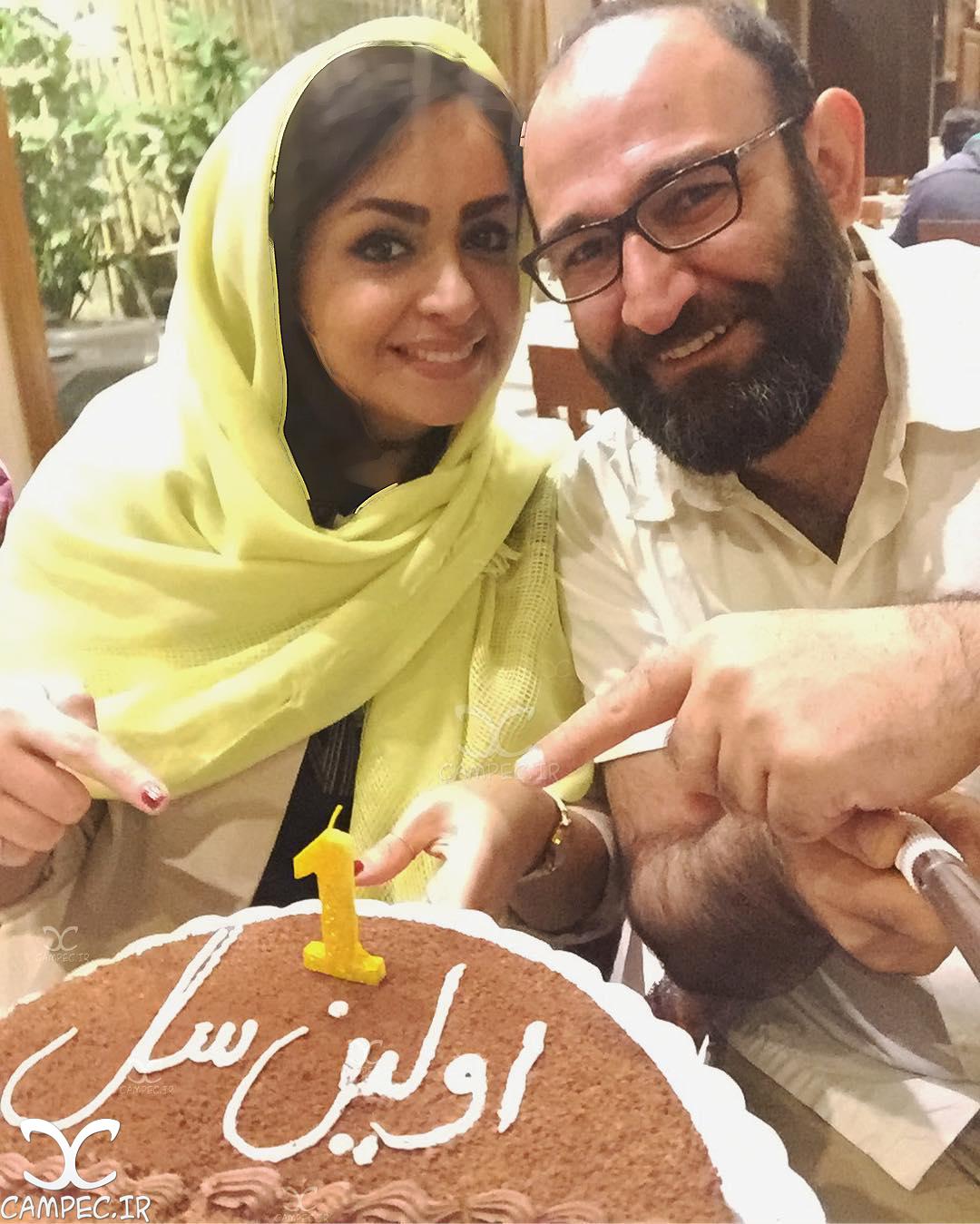 اولین سالگرد ازدواج هدایت هاشمی و همسرش مهشید ناصری! عکس