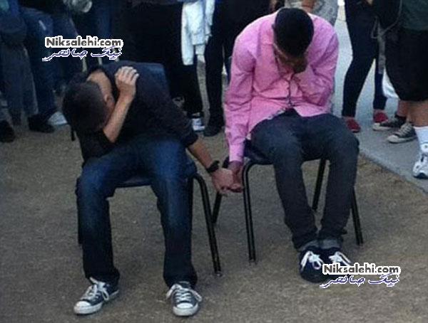 تنبیه جنجالی دو دانش آموز دبیرستانی