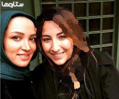 ارغوان رضایی در کنار بازیگر زن ایرانی عکس
