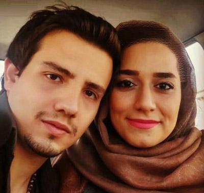 وقتی امیر کاظمی برای کمک به همسرش جارو می کشد!
