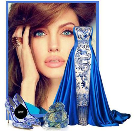 لباس شب تان را به سبک آنجلینا جولی ست کنید