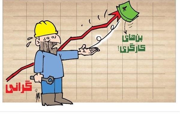 مجموعه کاریکاتورهایی با موضوع کارگران