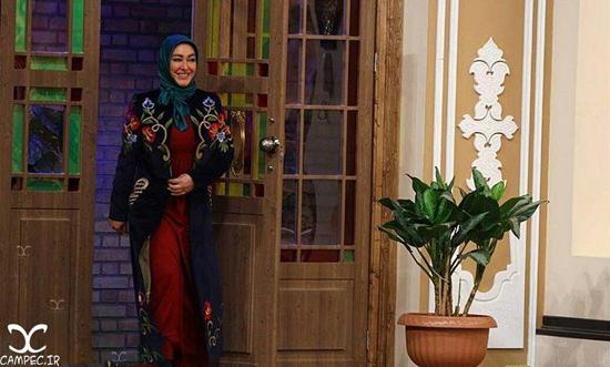 حضور الهام حمیدی در برنامه دورهمی مهران مدیری