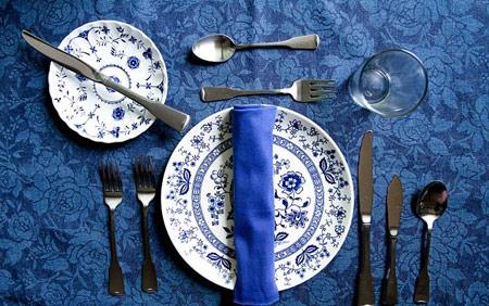 اصول چیدن میز به یبک شاهانه و سلطنتی!