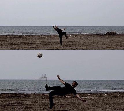 محسن یگانه و اقدام غیرمنتظره اش! تصاویر