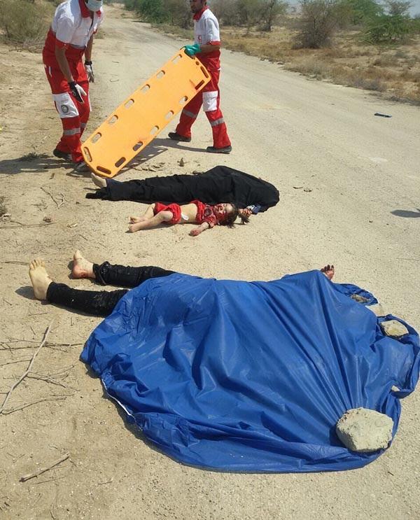 7 کشته و 7 زخمی در تصادف دلخراش جاده مرگ