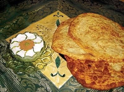 طرزتهیه اگردَک، نان سنتی همدانی ها! عکس