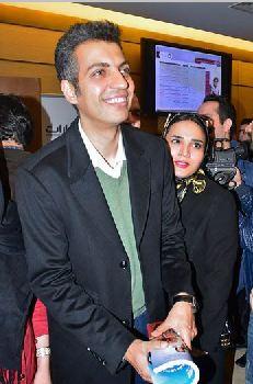 عادل فردوسی پور در کاخ جشنواره فیلم فجر! تصاویر
