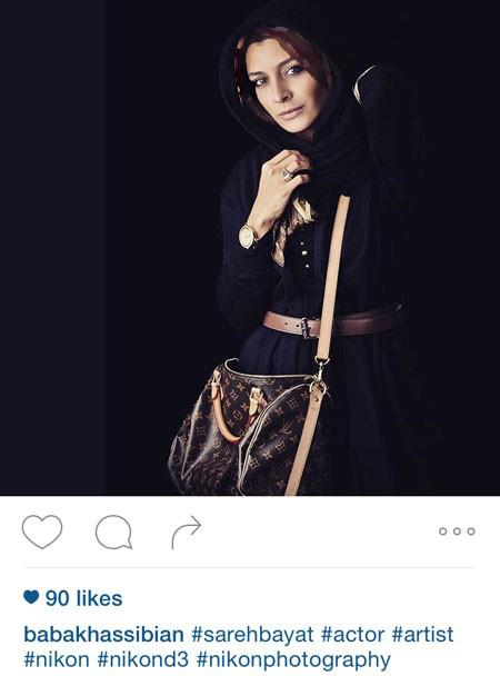 آزاده صمدی و ساره بیات دو بازیگر خوش پوش کشور تصاویر