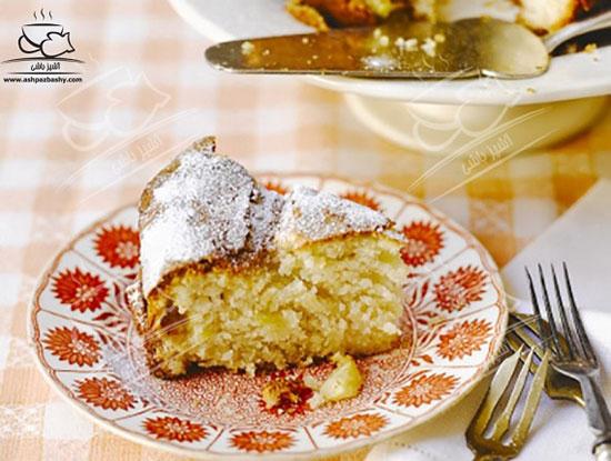 کیک آناناس و نارگیل