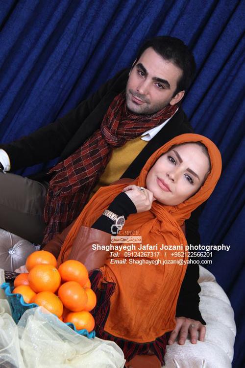 تیپ جالب و متفاوت سپیده خداوردی و همسرش  تصاویر