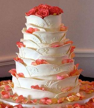نمونه هایی از کیک های جشن عقد و عروسی تصاویر زیبا