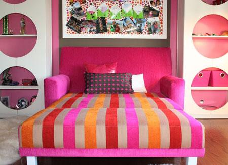 ایده هایی برای تلفیق اتاق خواب و اتاق نشیمن در آپارتمان های نقلی  تصاویر