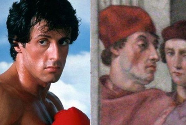 شباهت بازیگر معروف مرد با یکی از نقاشی های رافائل! تصاویر