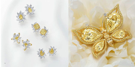 کلکسیون جواهرات و الماس های LEVIEV  تصاویر