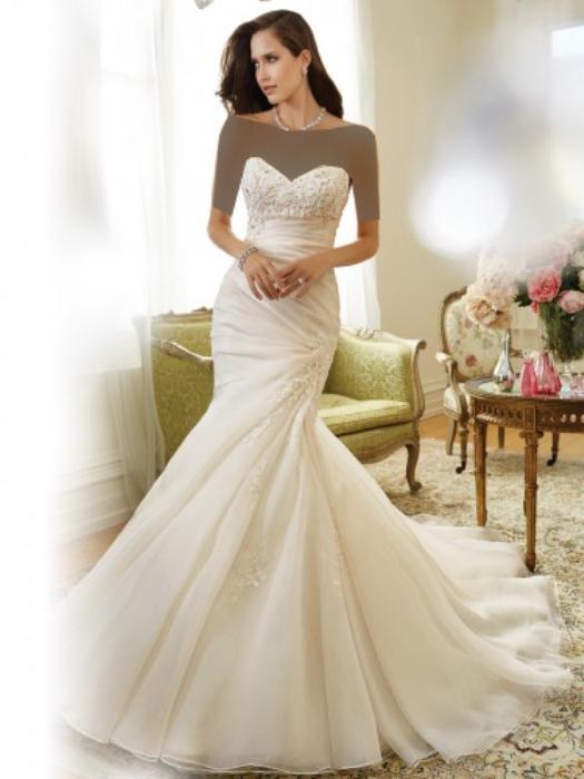 انواع مدلهای لباس عروس ۹۵