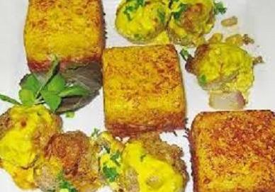 آموزش پخت ته دیگ تخم مرغی لذیذ! عکس