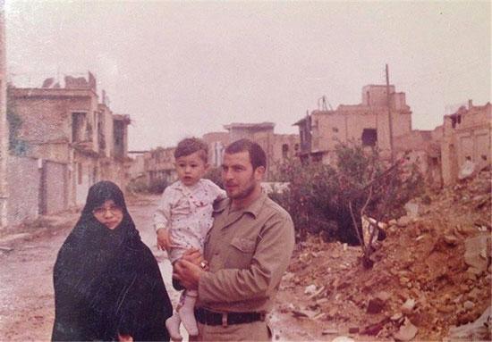عکسهای قدیمی و جدید محمد باقر قالیباف و همسرش تصاویر