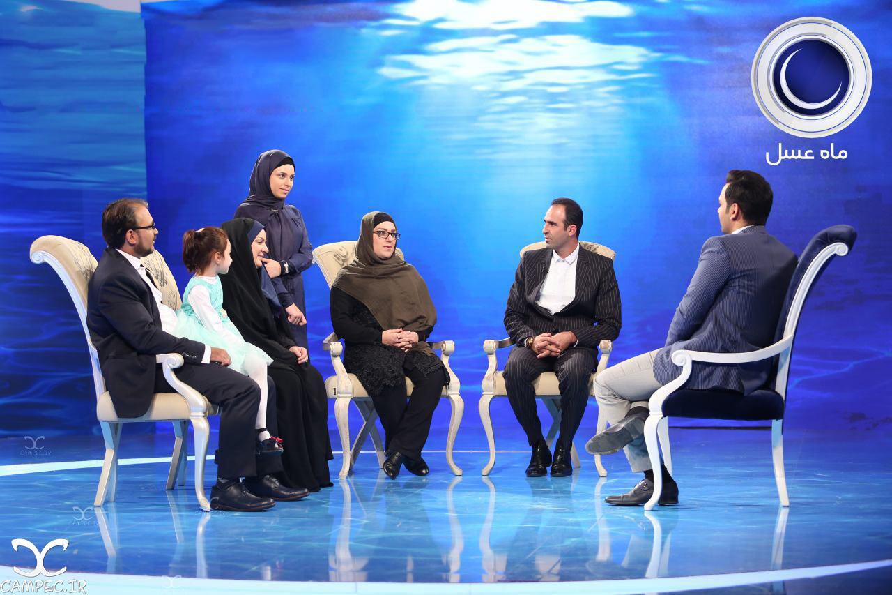 قصه عاشقانه و زیبای محمد و خانم معلم فداکار در برنامه ماه عسل