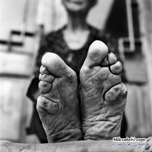آخرین زنان دارای سمبل زیبایی چین باستان