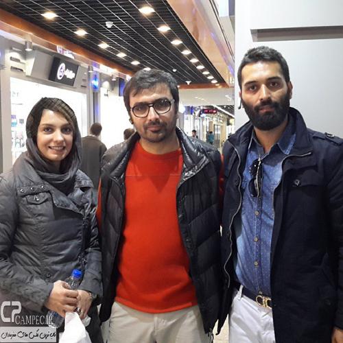 تصاویری از الیکا عبدالرزاقی و همسرش امین زندگانی