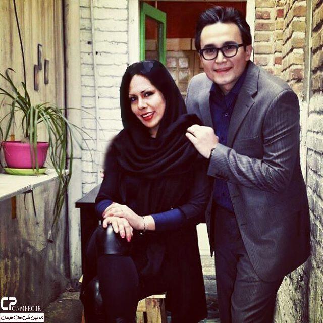 عکس های جدید کیوان محمودنژاد بازیگر دهه 80 با همسرش