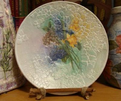 تزئین ظروف شیشه ای با پوسته تخم مرغ