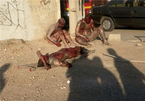 حادثه دلخراش انفجار مواد محترقه در اسلامشهر