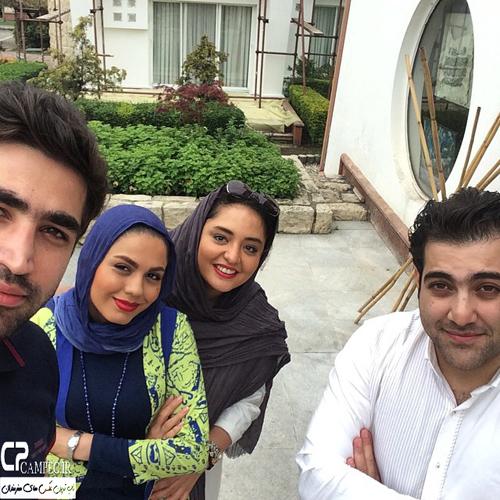 عکس های متفاوت نرگس محمدی و آزاده زارعی در شمال