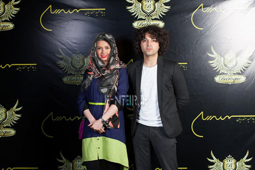 عکس : اشکان خطیبی و همسرش