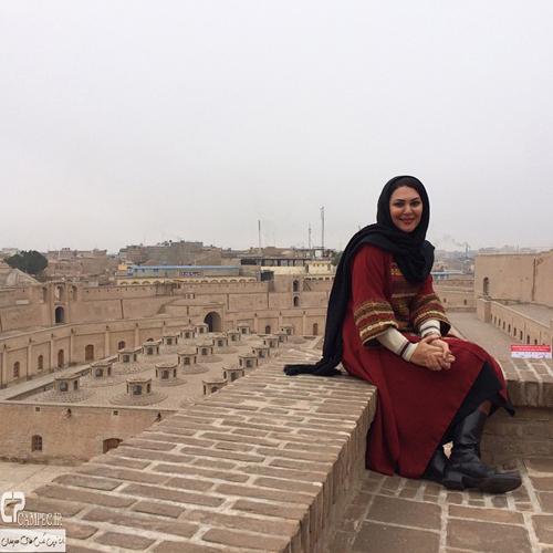 عکس های جدید لاله اسکندری در افغانستان