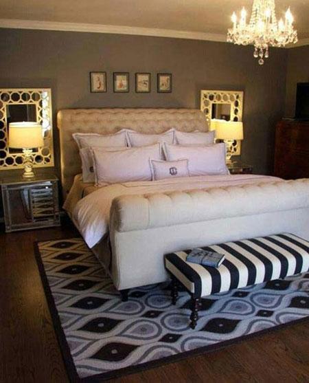 مدرنترین نور پردازی اتاق خواب  تصاویر