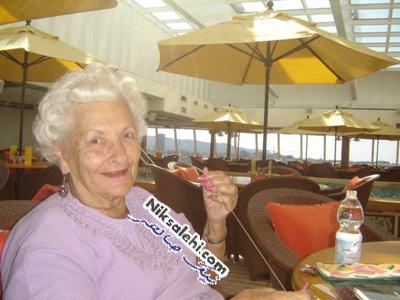 زندگی رویایی یک بانوی 86 ساله