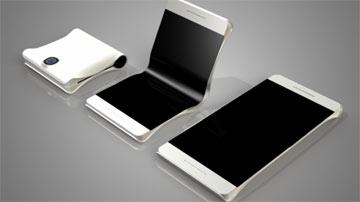 سامسونگ گوشی هوشمندی ساخته که از وسط نمایشگر تا میشود