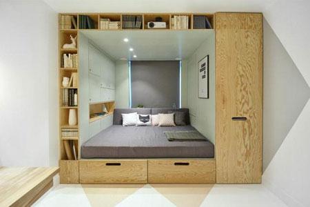 طراحی اتاق 14 متری با ایده های بی نظیر  تصاویر