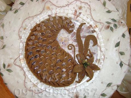 تصاویری از نحوه تزئین حنا در مراسم حنابندان
