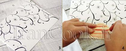 ساخت کاردستی کارت تولد شیک  تصاویر