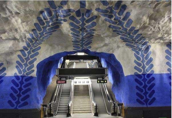 شگفت انگیزترین ایستگاه های مترو در سراسر دنیا