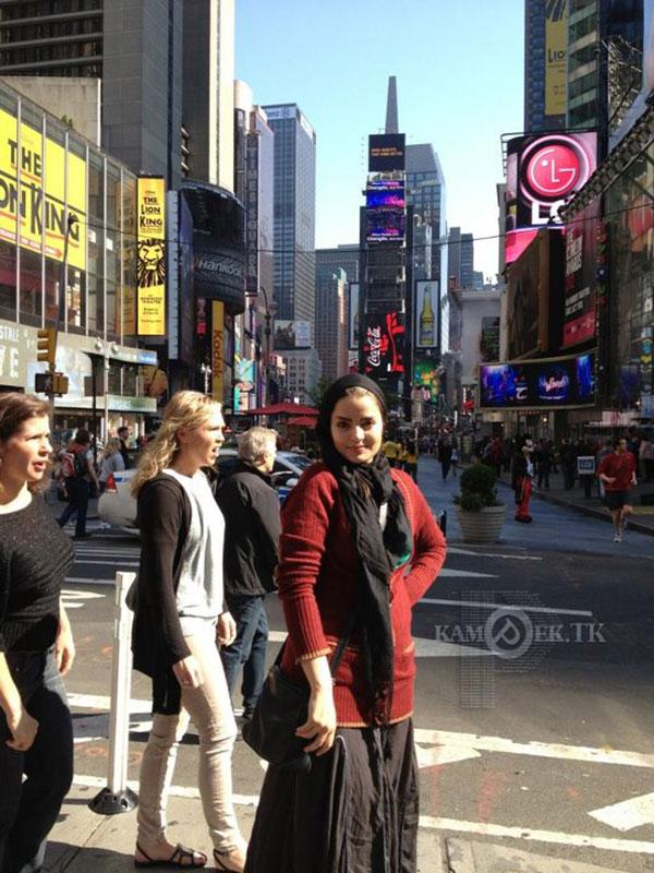 عکس های بازیگران زن ایرانی در خارج از کشور