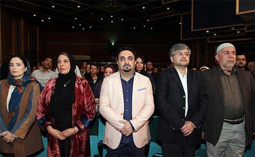 نگار جواهریان و گوهر خیراندیش درافتتاح یک جشنواره