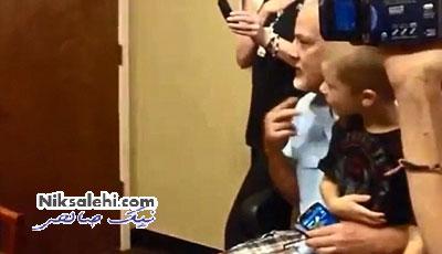 لحظه ای که مادرناشنوا برای اولین بار صدای کودکش را شنید