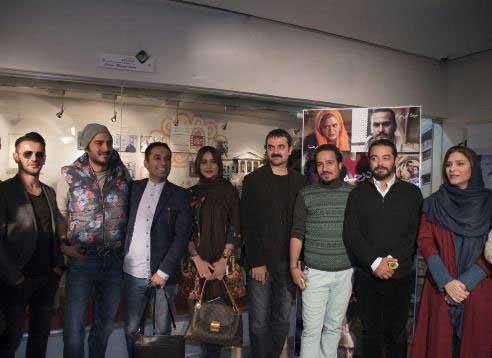 بازیگران مشهور در اکران فیلم سینمایی سام قریبیان تصاویر