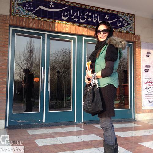 عکس های جدید و زمستانی نیکی مظفری ، بازیگر سینما