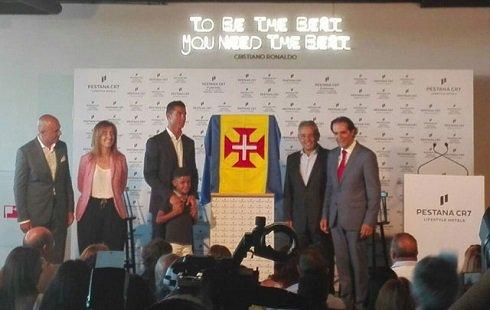 شعبه جدید هتل کریس رونالدو در مادیرا افتتاح شد