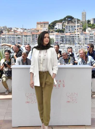 با وقار و زیباپوش مانند ترانه علیدوستی/ مدل های لباس ترانه علیدوستی در جشنواره کن2016 تصاویر