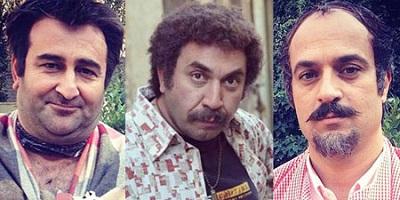 10نما از گریم های متفاوت و بسیارجالب بازیگران در سریال ابله! تصاویر