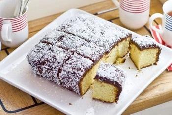 کیک لامینگتون، کیک استرالیایی ساده و خوشمزه عکس